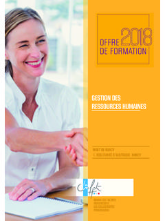 GESTION DES RESSOURCES HUMAINES - cnfpt.fr