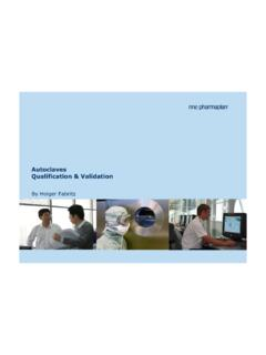 Autoclaves Qualification & Validation - gmpua.com