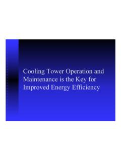 Operation and Maint for Energy Efficiency