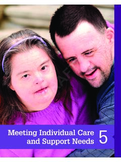 Meeting Individual Care and Support Needs 5