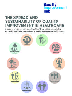THE SPREAD AND SUSTAINABILITY OF QUALITY …