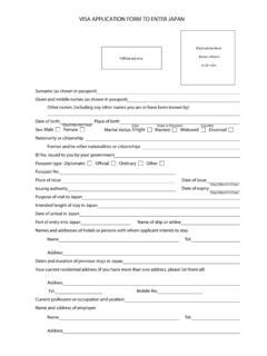 On Line Visa Application Form Visa Application Center Visa Application Form Pdf4pro