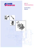 PVG 32 Proportional Valves Service Parts Manual