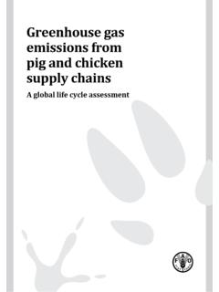 Greenhouse gas emissions from pig and chicken supply ...