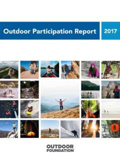 Outdoor Participation Report 2017