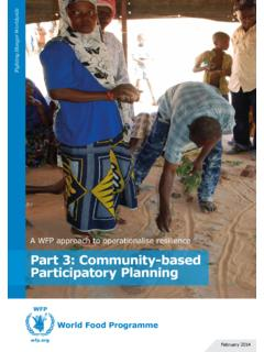 Part 3: Community-based Participatory Planning