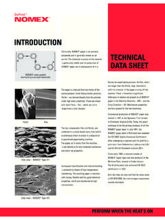 INTRODUCTION TECHNICAL DATA SHEET - DuPont