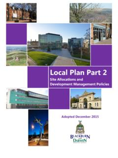 Local Plan Part 2 - blackburn.gov.uk