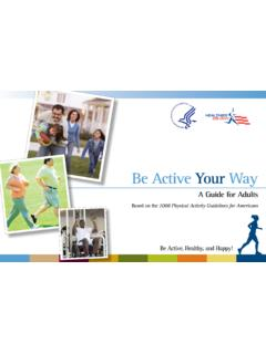 Be Active Your Way - Health