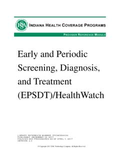 Early and Periodic Screening, Diagnosis, and …