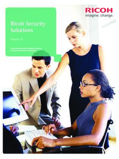 Ricoh Security Solutions - IN.gov