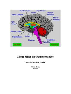 Cheat Sheet for Neurofeedback - StressTherapy Solutions