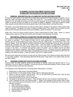 BULLETIN CWT-201 PAGE 1 OF 2 5C CLEANING & …