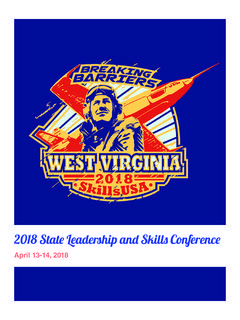 2018 State Leadership and Skills Conference