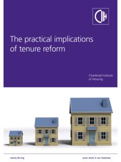 Tenure reform rev - Chartered Institute of Housing (CIH)