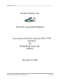 Security Assessment Report - Hiltbrand