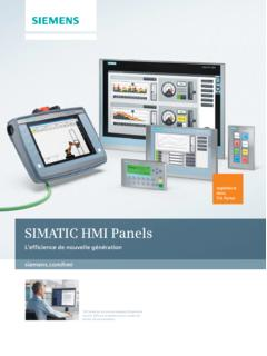 SIMATIC HMI Panels - automation.siemens.com