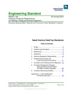 Saudi Aramco Engineering Standard