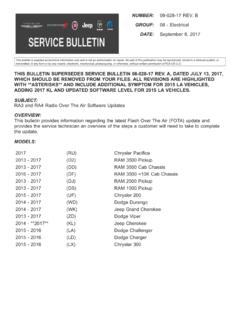 THIS BULLETIN SUPERSEDES SERVICE BULLETIN …