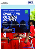 Cambridge TECHNICALS LEVEL 3 SPORT AND …