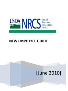 NEW EMPLOYEE GUIDE - USDA