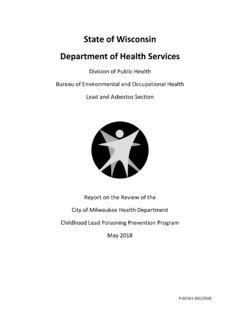 State of Wisconsin Department of Health Services