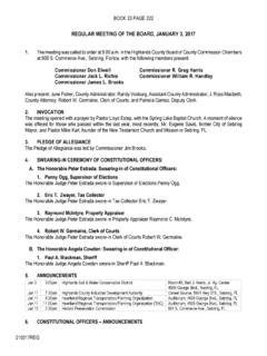 REGULAR MEETING OF THE BOARD, JANUARY 3, …