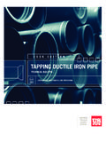 TAPPING DUCTIL E IRON PIPE