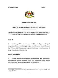 Surat Pekeliling Perkhidmatan Bilangan 4 Pekeliling Perkhidmatan Pdf4pro