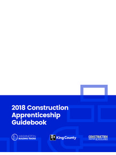 2019 Construction Apprenticeship Guidebook - Seattle