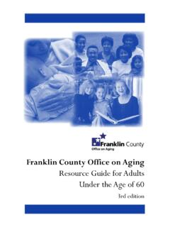 Resource Guide for Adults Under the Age of 60