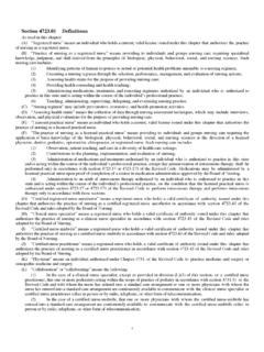 Section 4723.01 Definitions - Ohio Board of Nursing