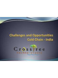 Challenges and Opportunities in Cold Chain Handling - India