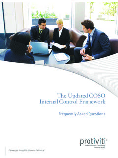 The Updated COSO Internal Control Framework - …