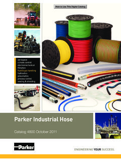 Parker Industrial Hose - Southwest Seal and Supply