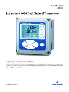 Product Data: 1056 Dual Channel Transmitter - …