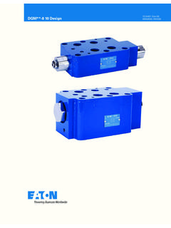 Pilot Operated Check Valve - Eaton