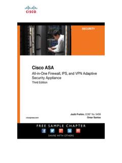 Cisco ASA: All-in-one Next-Generation Firewall, …
