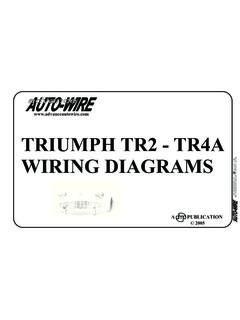 [SCHEMATICS_4NL]  TRIUMPH TR2 - TR4A WIRING DIAGRAMS / triumph-tr2-tr4a-wiring-diagrams.pdf /  PDF4PRO   Triumph Tr4a Wiring Diagram      PDF4PRO