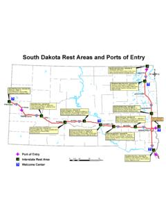 South Dakota Rest Areas