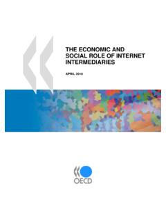 THE ECONOMIC AND SOCIAL ROLE OF INTERNET …