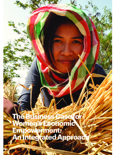 The Business Case for Women's Economic Empowerment: …