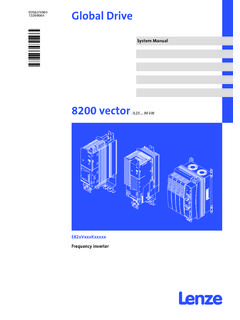 System manual E82EV 8200 vector 0.25-90kW - …