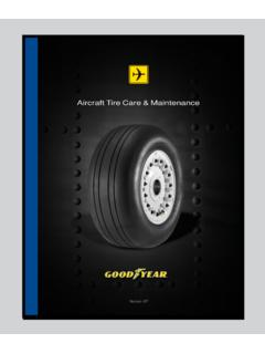 Aircraft Tire Care & Maintenance - Goodyear Aviation