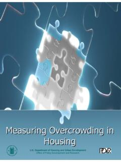 Measuring Overcrowding in Housing - HUD User