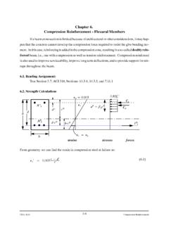 Chapter 6. Compression Reinforcement - Flexural …