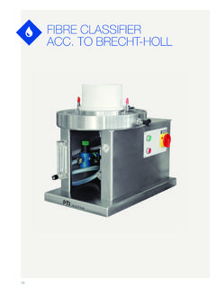 fiBre classifier acc. to Brecht-holl - IGT