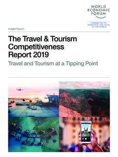 Insight Report The Travel & Tourism Competitiveness …