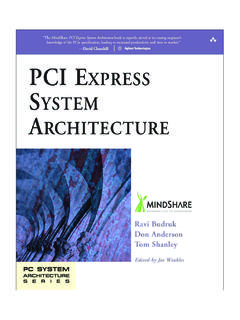 PCI Express System Architecture - MindShare
