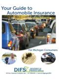Guide to Auto Insurance - michigan.gov